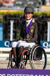 Bronze medal, Individual Grade III, Minnici Barbara, BEL<br /> European Championship Para Dressage<br /> Rotterdam 2019<br /> © Hippo Foto - Dirk Caremans