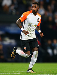 Fred of Shakhtar Donetsk - Mandatory by-line: Matt McNulty/JMP - 26/09/2017 - FOOTBALL - Etihad Stadium - Manchester, England - Manchester City v Shakhtar Donetsk - UEFA Champions League Group stage - Group F