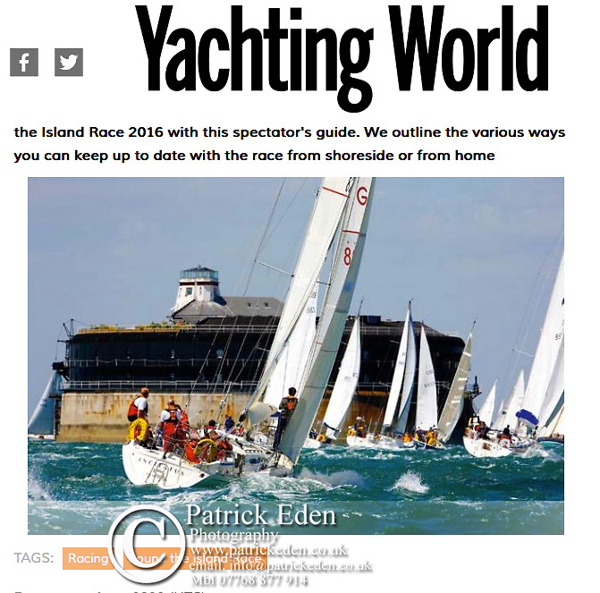 Yachting World, Spectators guide to the j P Morgan Round the Island Race, 2016