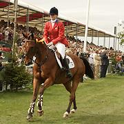 Kim Severson (USA) and Winsome Adante at the 2007 Mitsubishi Motors Badminton Horse Trials.