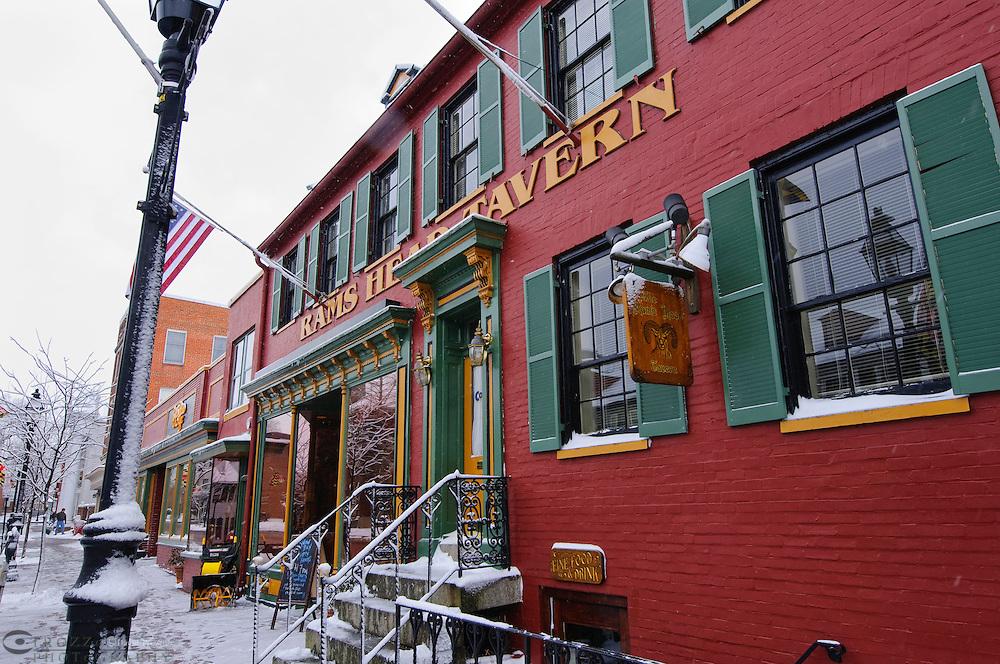 Rams Head Tavern, Annapolis, Maryland