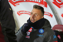December 16, 2017 - Turin, Piedmont, Italy - Emanuele Giaccherini (SSC Napoli) before the Serie A football match between Torino FC and SSC Napoli at Olympic Grande Torino Stadium on 16 December, 2017 in Turin, Italy. SSC Napoli win 3-1 over Torino FC. (Credit Image: © Massimiliano Ferraro/NurPhoto via ZUMA Press)