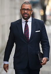 © Licensed to London News Pictures. 20/02/2019. London, UK. Conservative MP JAMES CLEVERLY  is seen in Westminster, London following a Radio interview. 8 Labour MPs and 3 Conservative MP's have resigned form their respective parties to Join the newly formed Independent Group. Photo credit: Ben Cawthra/LNP