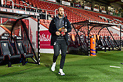 Glenn Murray (17) of Brighton and Hove Albion arrives ahead of the Premier League match between Bournemouth and Brighton and Hove Albion at the Vitality Stadium, Bournemouth, England on 21 January 2020.