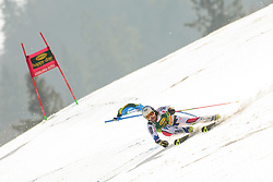 March 9, 2019 - Kranjska Gora, Kranjska Gora, Slovenia - Thomas Fanara of France in action during Audi FIS Ski World Cup Vitranc on March 8, 2019 in Kranjska Gora, Slovenia. (Credit Image: © Rok Rakun/Pacific Press via ZUMA Wire)