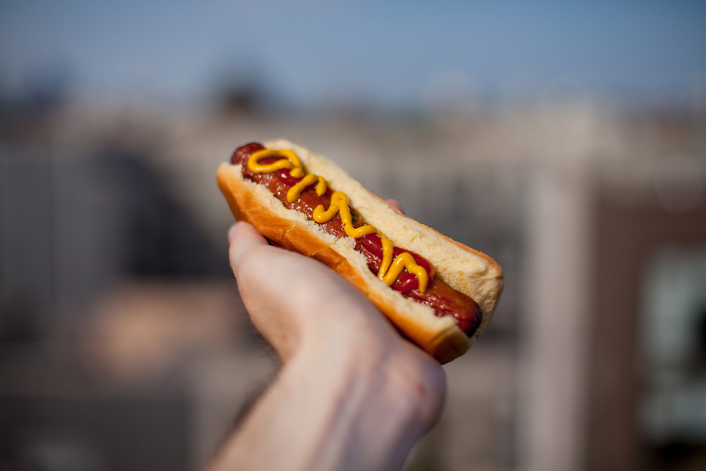 Hot Dog at JG's Rooftop (P$FREE) - Company BBQ