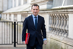 © Licensed to London News Pictures. 16/01/2018. London, UK. Secretary of State for Wales Alun Cairns arriving in Downing Street to attend a Cabinet meeting this morning. Photo credit : Tom Nicholson/LNP
