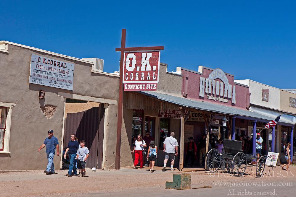 The O.K. Corral, Tombstone, Arizona, United States of America