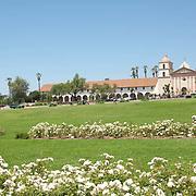 Mission Santa Barbara. Santa Barbara, CA.