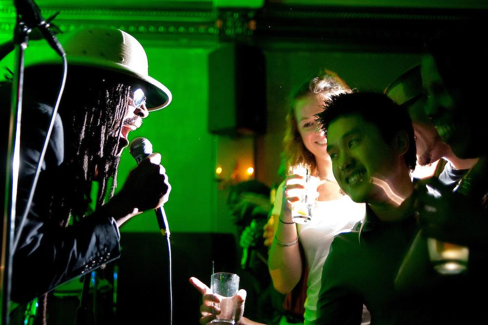 Jah Rootz of See-I, Rockers International at Eighteenth Street Lounge, Washington, DC