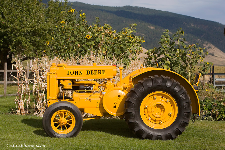 1936 John Deere AI Industrial Tractor restored by Dennis Black of Arlee Montana. Only 68 Built.
