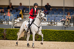 Ameeuw Louise, BEL, Lover Boy Z<br /> European Jumping Championship Children<br /> Zuidwolde 2019<br /> © Hippo Foto - Dirk Caremans<br /> Ameeuw Louise, BEL, Lover Boy Z