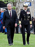 Princess Anne & German President Gauck -Jutland Commemoration
