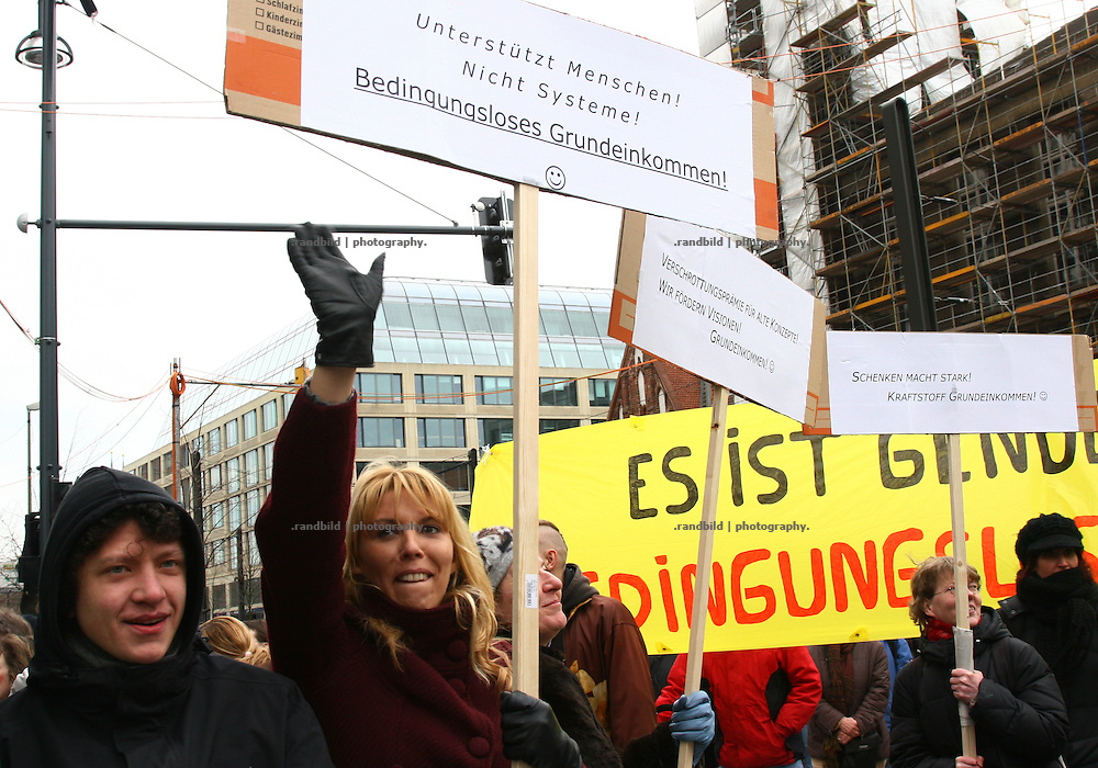 """With the slogan """"We will not pay your crisis"""" about 30.000 people demonstrate in Berlin against the german crisis policy. Same time 25.000 people protested in Frankfurt, too, while several further europeans citys becomes the locations of additional social protests."""