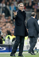 Paris Saint-Germain's coach Laurent Blanc during Champions League 2014/2015 Semi-finals 2nd leg match. November 3,2015. (ALTERPHOTOS/Acero)