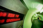 London Underground Photography  By Rupert Rivett. Rupert is a Brighton based photographer