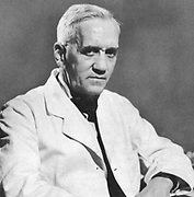 Alexander Fleming (1881-1955) Scottish bacteriologist and surgeon. Discovered penicillin 1928. Shared Nobel prize with Florey and Chain (1945).