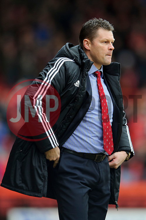 Bristol City Manager Steve Cotterill (ENG) looks on - Photo mandatory by-line: Rogan Thomson/JMP - 07966 386802 - 01/03/2014 - SPORT - FOOTBALL - Ashton Gate, Bristol - Bristol City v Gillingham - Sky Bet League One.