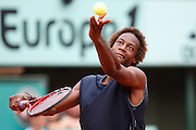 Saturday May 31st 2008. Roland Garros. Paris, France. .Gael MONFILS against Jurgen MELZER..Tennis French Open. 3rd Round...