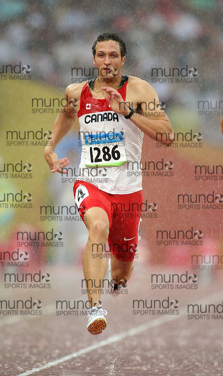2008 Beijing Olympic Games- August 21st - Morning *** Massimo Bertocchi -- Decathlon 100m, Canada *** Morning
