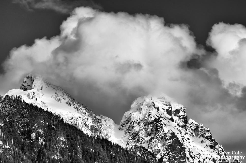 Summit Storm - Mount Baring