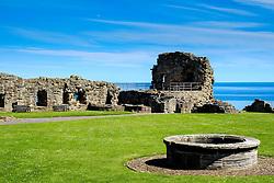 The ruins of St Andrews Castle, St Andrews, Fife, Scotland<br /> <br /> (c) Andrew Wilson | Edinburgh Elite media