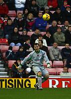 Photo: Andrew Unwin.<br />Sunderland v Southampton. Coca Cola Championship. 11/11/2006.<br />Southampton's Kelvin Davis returns to the Stadium of Light.