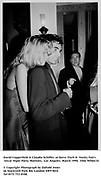 David Copperfield & Claudia Schiffer  at Steve Tisch &  Vanity Fair's Oscar Night Party,<br /> Mortons,  Los Angeles. March 1994.  Film 94564/14<br />  <br /> © Copyright Photograph by Dafydd Jones<br /> 66 Stockwell Park Rd. London SW9 0DA<br /> Tel 0171 733 0108.