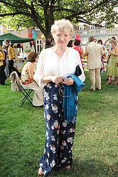 Actress JULIA McKENZIE at the Lord's Taverners Diamond Jubilee Garden Party held in College Gardens, Westminster Abbey, London on 8th July 2010.