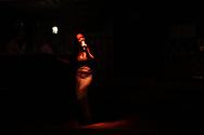 Olga performs at the Poison Bar, St. Petersburg