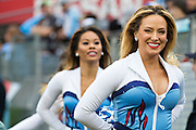 NASHVILLE, TN - NOVEMBER 29:  Cheerleader of the Tennessee Titans smiles to the camera during a game against the Oakland Raiders at Nissan Stadium on November 29, 2015 in Nashville, Tennessee.  The Raiders defeated the Titans 24-21.  (Photo by Wesley Hitt/Getty Images) *** Local Caption *** Marcus Mariota
