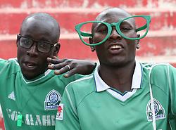 Gor Mahia FC Fans cheer against Nakumatt FC during their Sportpesa Premier League tie at Nyayo Stadium in Nairobi on July 30, 2017. Gor won 2-0. Photo/Fredrick Omondi/www.pic-centre.com(KENYA)