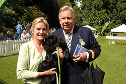 MR DAVID McDONOUGH and LADY MARY-GAYE CURZON  with her dog Poppet at Macmillan Dog Day in aid of Macmillan Cancer Support, held at Royal Hospital Chelsea, London on 3rd July 2007.<br /><br />NON EXCLUSIVE - WORLD RIGHTS
