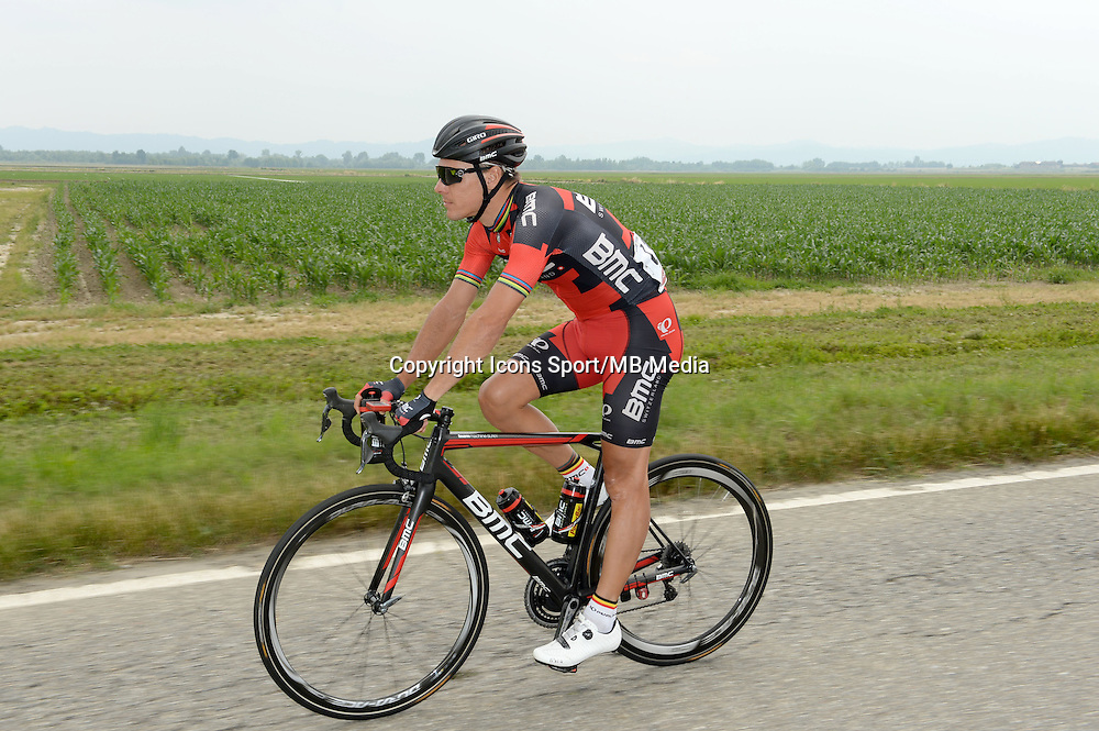 Gilbert Philippe - BMC - 31.05.2015 - Tour d'Italie - Etape 21 : Turin / Milan <br />