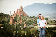 Ashlee & Dustin in Garden of the Gods