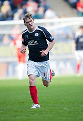 Falkirk's David Weatherston..Falkirk v Raith Rovers, 18/8/2012..