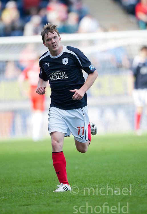 Falkirk's David Weatherston..Falkirk v Raith Rovers, 18/8/2012..