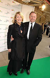 NICK JONES and KIRSTY YOUNG at the NSPCC's Dream Auction held at The Royal Albert Hall, London on 9th May 2006.<br />
