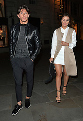 Chloe Lewis and Jake Hall at the Towie wrap party at Blanca Bar Soho London. UK. 22/04/2015<br />BYLINE MUST READ : GOTCHAIMAGES.COM<br /><br />Copyright by © Gotcha Images Ltd. All rights reserved.<br />Usage of this image is conditional upon the acceptance <br />of Gotcha Images Ltd, terms and conditions available at<br />www.gotchaimages.com