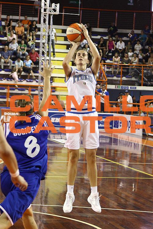 DESCRIZIONE : Pescara Giochi del Mediterraneo 2009 Mediterranean Games Italia Serbia  Italy  Serbia Final Women<br /> GIOCATORE : Raffaella Masciadri<br /> SQUADRA : Italia Italy<br /> EVENTO : Pescara Giochi del Mediterraneo 2009<br /> GARA : Italia Serbia  Italy  Serbia<br /> DATA : 02/07/2009<br /> CATEGORIA : tiro<br /> SPORT : Pallacanestro<br /> AUTORE : Agenzia Ciamillo-Castoria/C.De Massis
