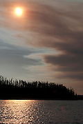 Shoshone Lake, Yellowstone National Park, WY, on Sept. 3, 2012.  (Photo by Aaron Schmidt © 2012)
