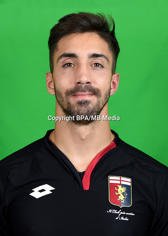 Italian League Serie A -2016-2017 / <br /> ( Genoa CFC ) - <br /> Eugenio Lamanna