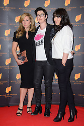 Tracey-Ann Oberman and Sue Perkins attend the RTS Programme Awards. London, United Kingdom. Tuesday, 18th March 2014. Picture by Chris Joseph / i-Images