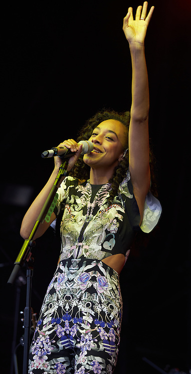 OXFORDSHIRE, UK - JULY 09: Corinne Bailey Rae performs on stage at The Cornbury Music Festival on July 9th, 2016 in Oxfordshire, United Kingdom. (Photo by Philip Ryalls)**Corinne Bailey Rae