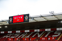 General View during a friendly match before the Premier League and Championship resume after the Covid-19 mid-season disruption - Rogan/JMP - 12/06/2020 - FOOTBALL - St Mary's Stadium, England - Southampton v Bristol City - Friendly.