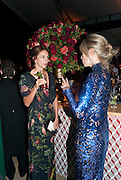 LADY ROSE CHOLMONDELEY; NICOLA FORNBY, Evgeny Lebedev and Graydon Carter hosted the Raisa Gorbachev charity Foundation Gala, Stud House, Hampton Court, London. 22 September 2011. <br /> <br />  , -DO NOT ARCHIVE-© Copyright Photograph by Dafydd Jones. 248 Clapham Rd. London SW9 0PZ. Tel 0207 820 0771. www.dafjones.com.