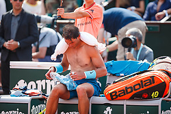 June 10, 2018 - Paris, U.S. - PARIS, FRANCE - JUNE 10:  XX (XXX)  during the French Open on June 10, 2018, at Stade Roland-Garros in Paris, France.(Photo by Chaz Niell/Icon Sportswire) (Credit Image: © Chaz Niell/Icon SMI via ZUMA Press)