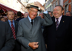 King Albert II of Belgium. (Photo © Jock Fistick)