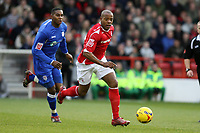 Photo: Pete Lorence.<br />Nottingham Forest v Millwall FC. Coca Cola League 1. 25/11/2006.<br />Junior Agogo in action.
