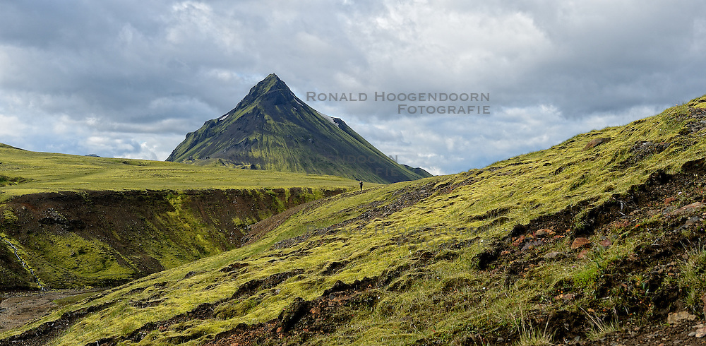 09-07-2014 ISL: Iceland Diabetes Challenge Dag 5, Emstrur<br /> Van Alftavatn naar Emstrur / Natuur, landschap